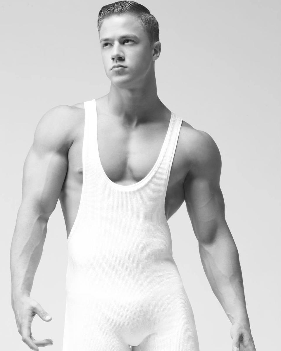 THE SEXY HUNK ATTILA TOTH BY TIM PALEN